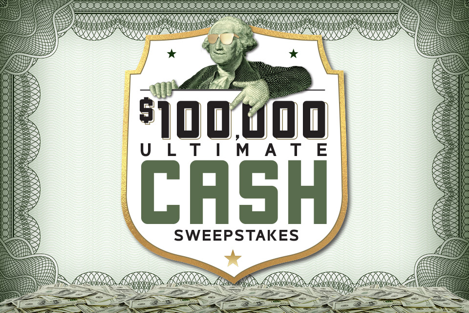 100k ultimate cash giveaway casino promotion