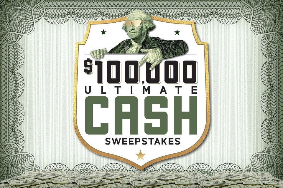 100k ultimate cash giveaway casino promotion