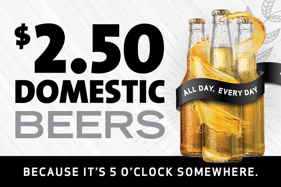 domestic beer special sioux city promotion