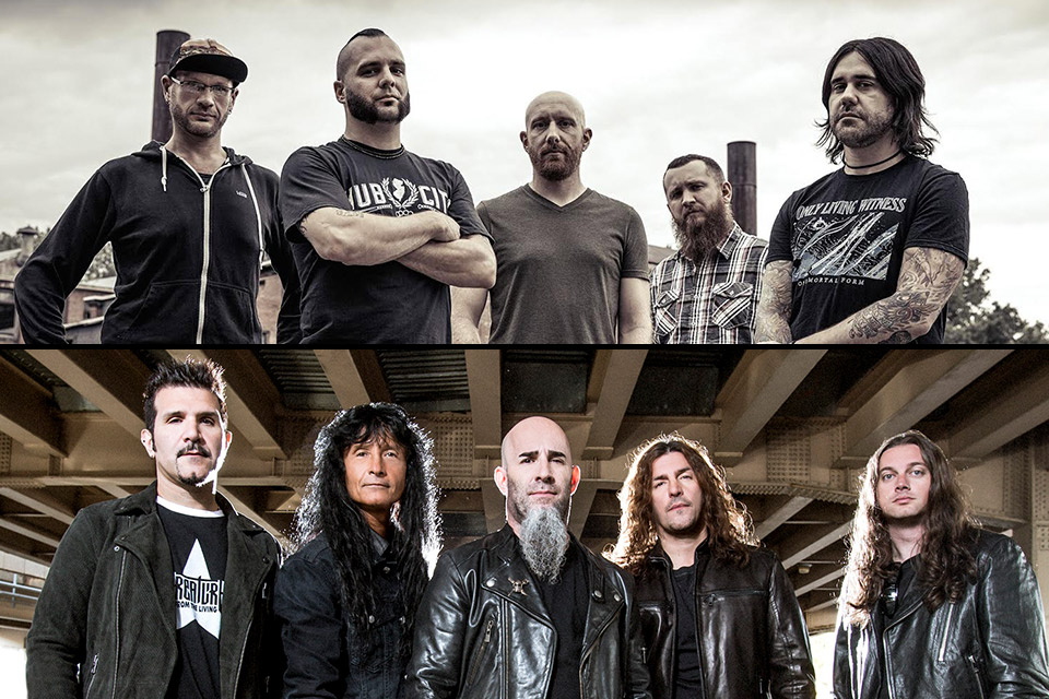anthrax killswitch engage sioux city events
