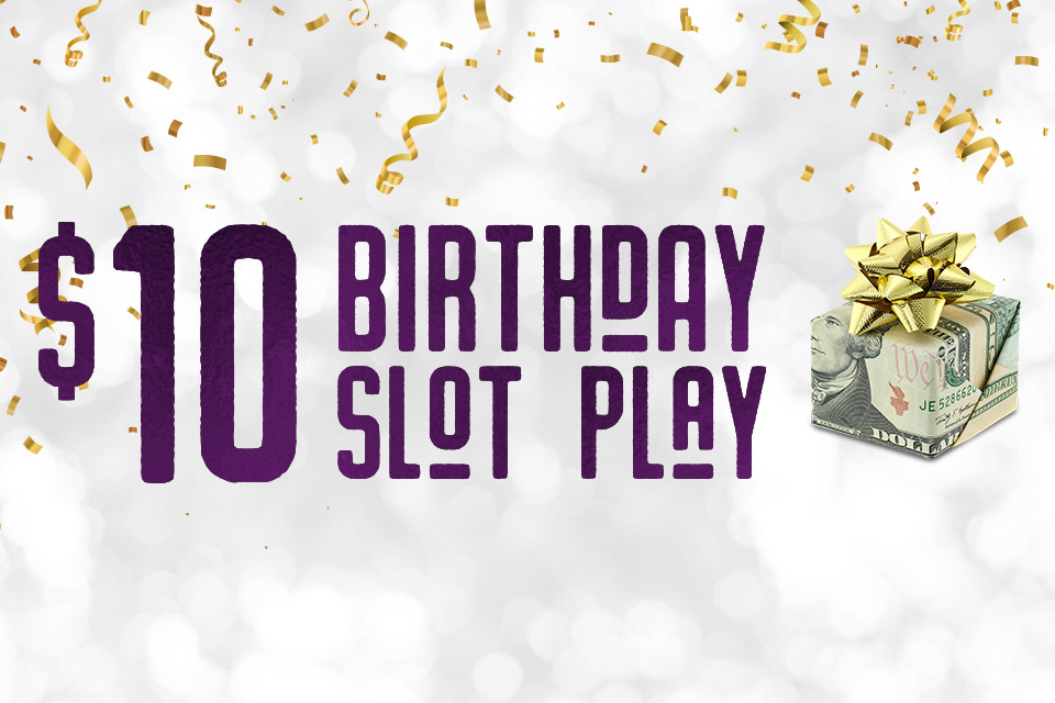 birthday slot tournament