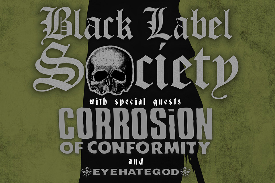 black label society sioux city events