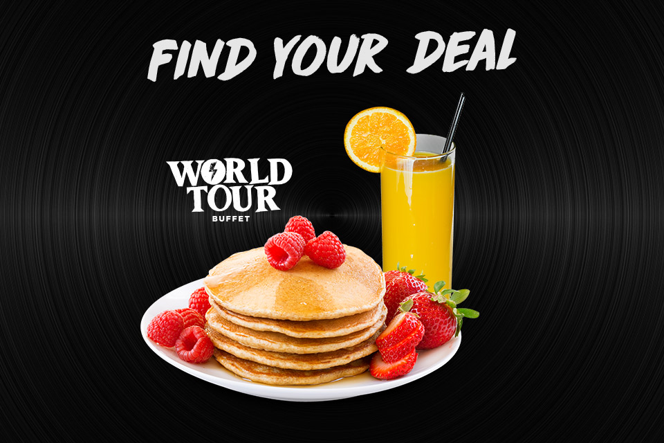 find your deal 5 7 9 world tour buffet