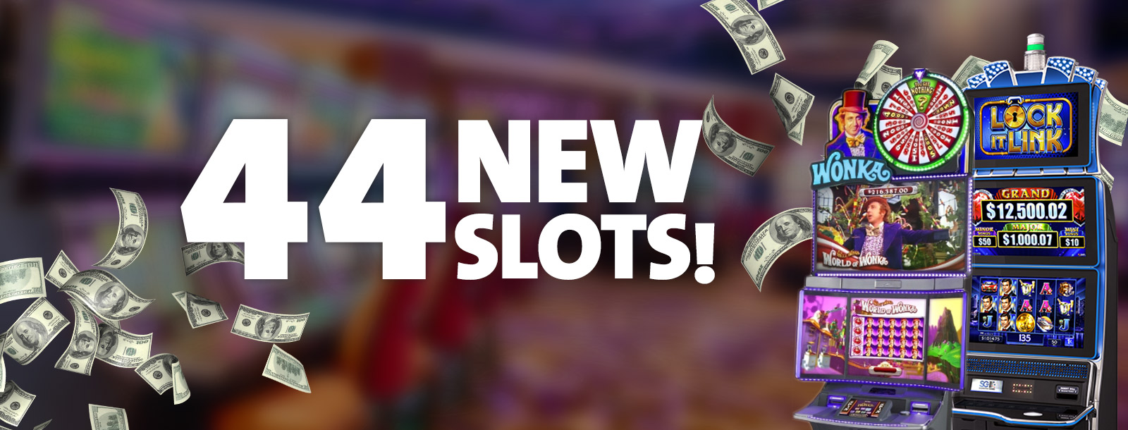 44 new slot - sioux city casino
