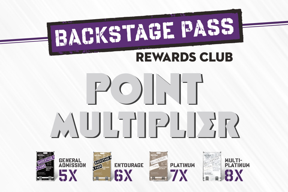 backstage pass points multiplier what to do in sioux city