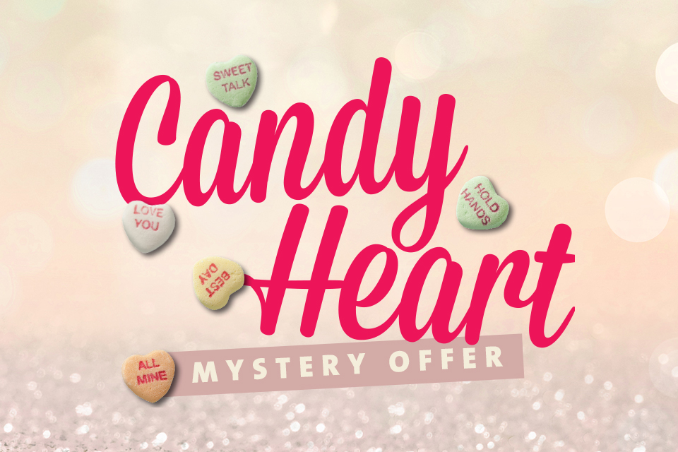 candy heart mystery offer sioux city casino promotions