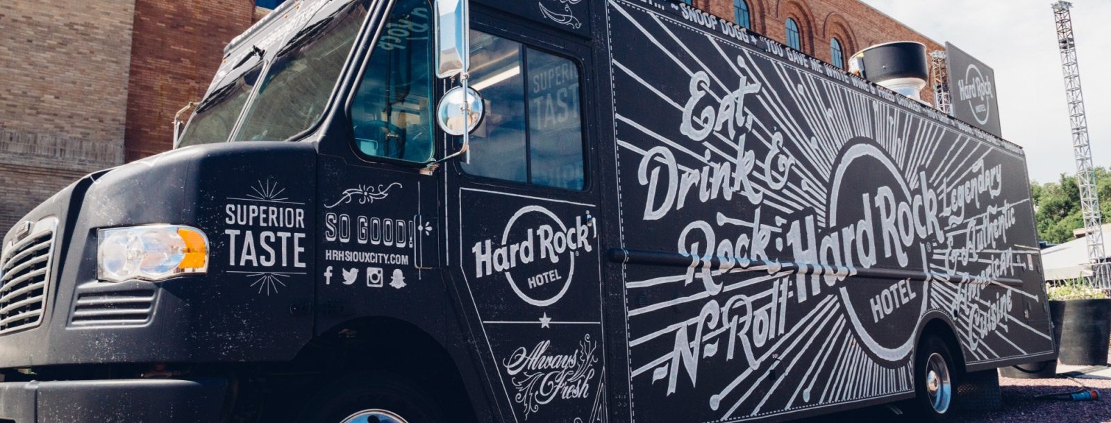 hard rock food truck sioux city attraction