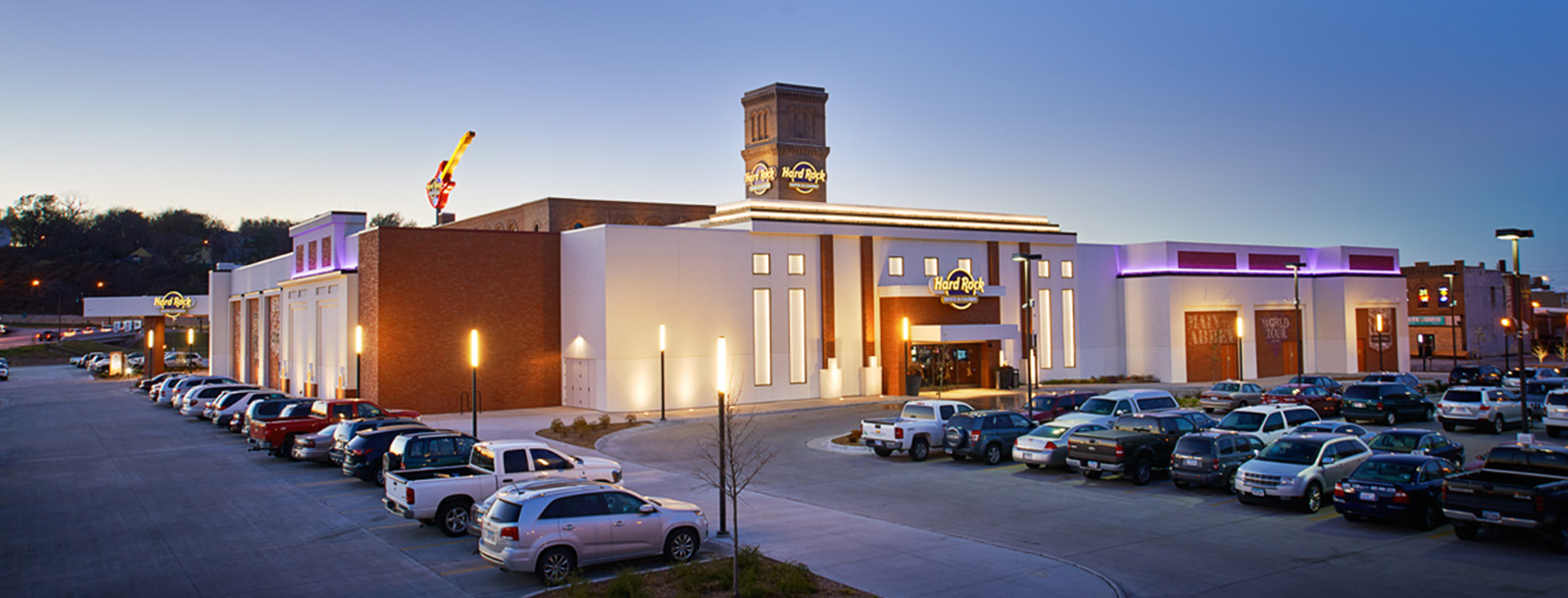 Parking Hard Rock Hotel Casino Sioux City