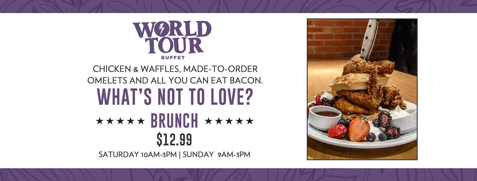 brunch special - sioux city world tour buffet