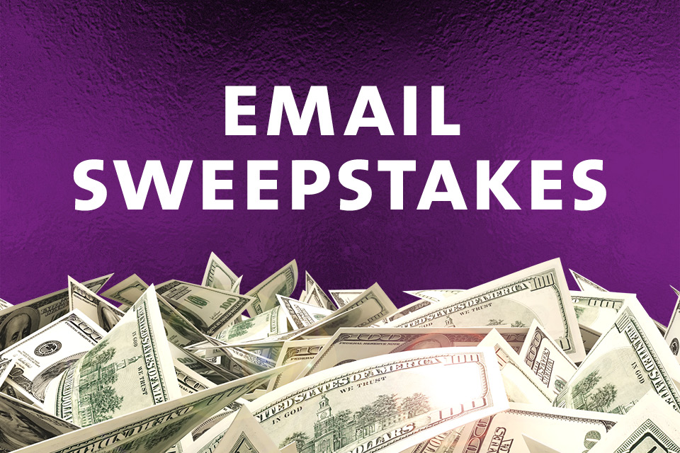 email sweepstakes sioux city casino promotion