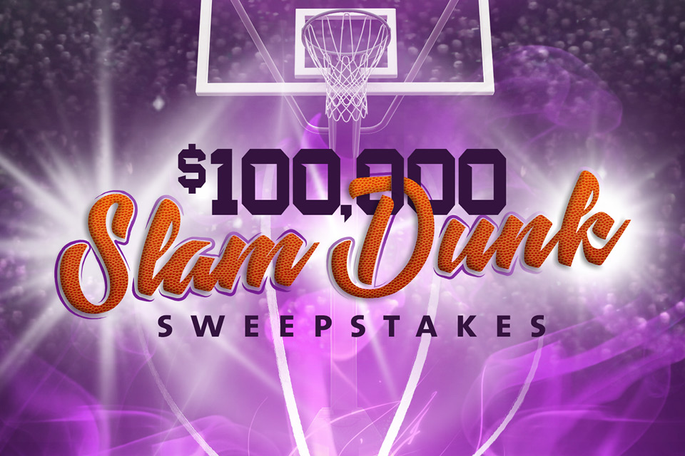 slam dunk sweepstakes sioux city casino promotions