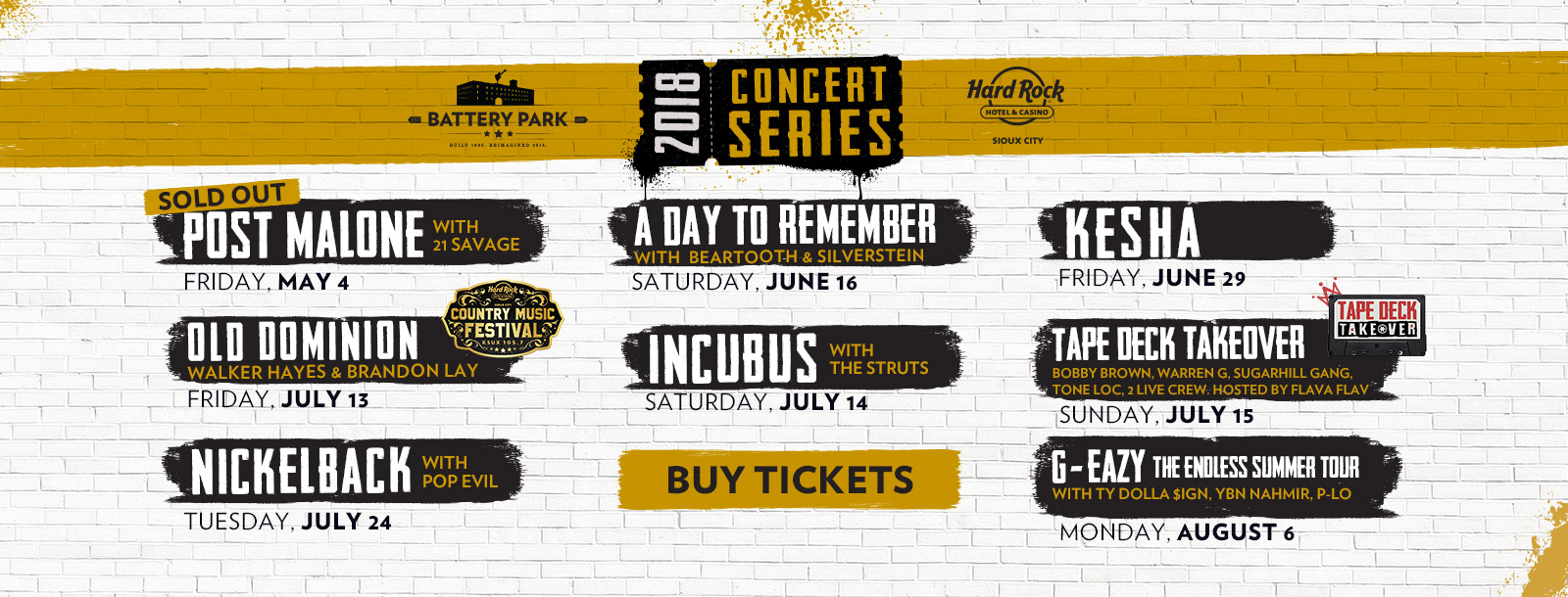 battery park sioux city outdoor concerts