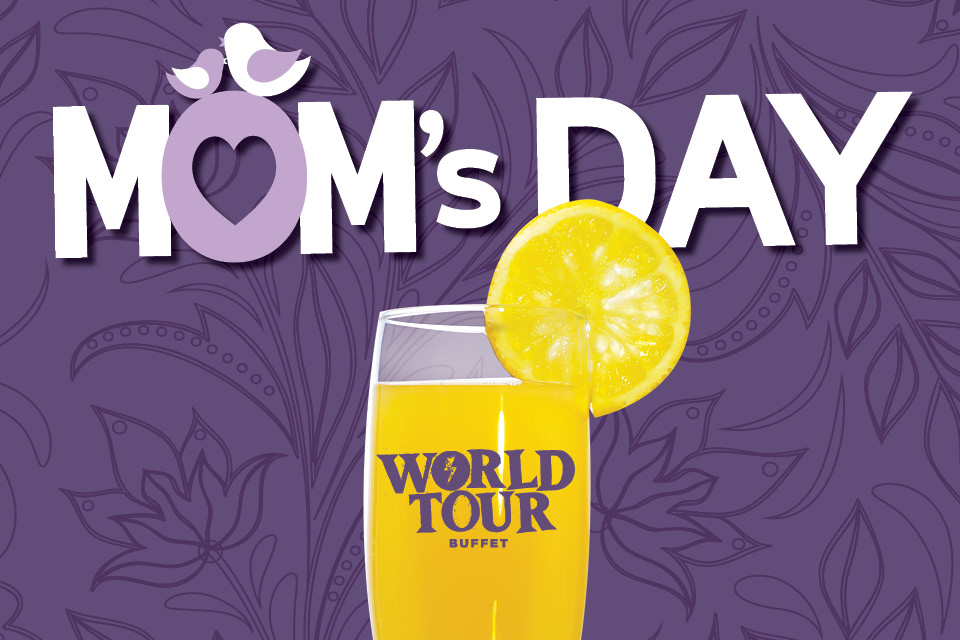mothers day world tour buffet