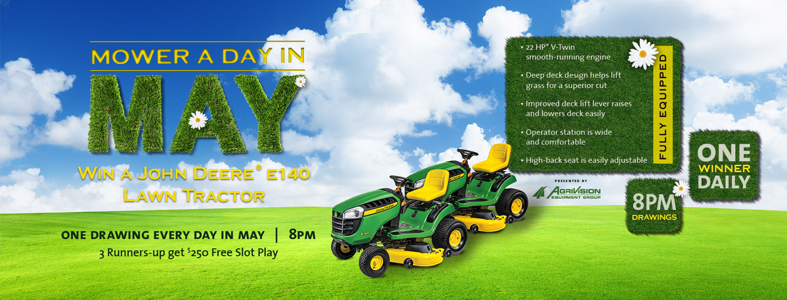 mower a day may promo