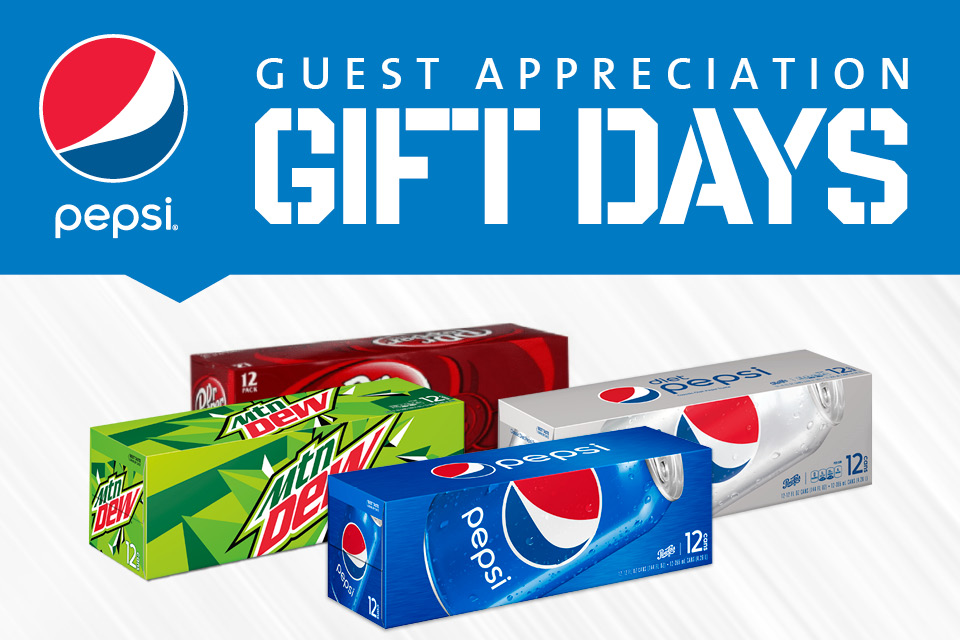 pepsi gift day sioux city casino promotions