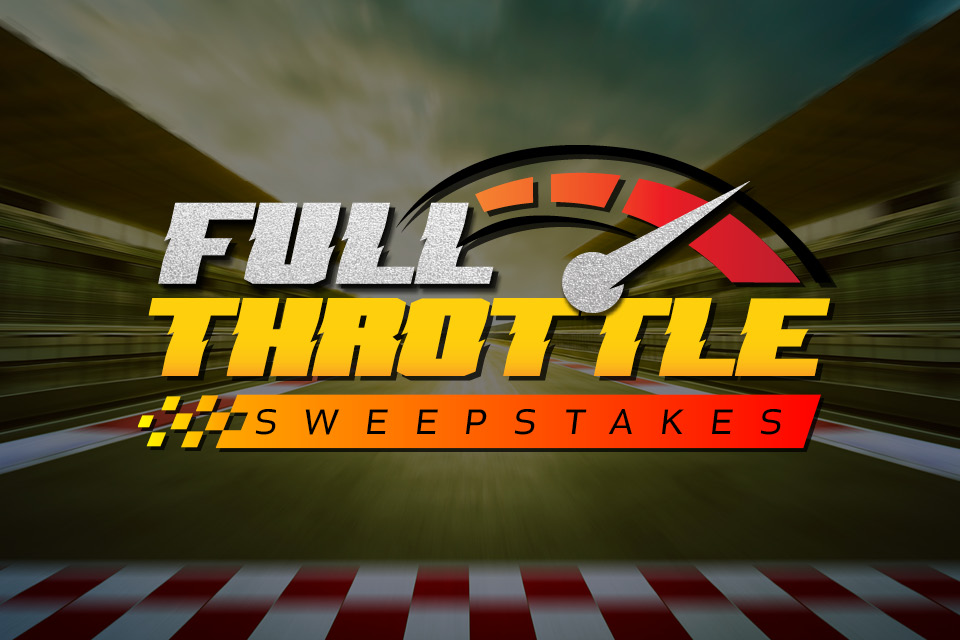 full throttle sweepstakes sioux city promotion