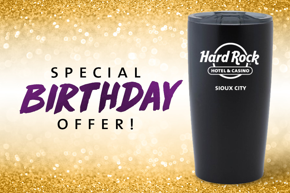 birthday travel mug casino promotion