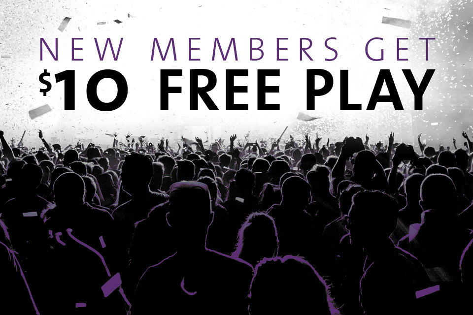 new member free play promotion