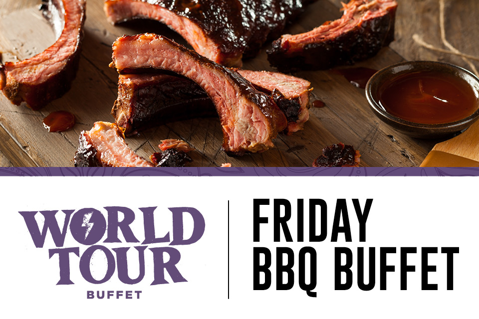 world tour buffet friday bbq