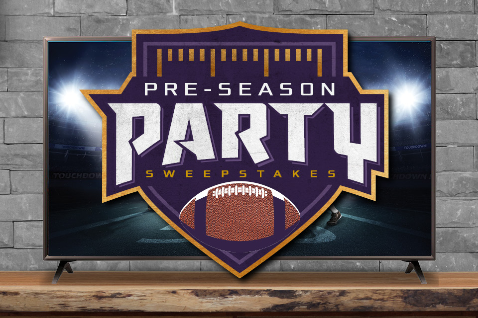 pre-season party sweepstakes