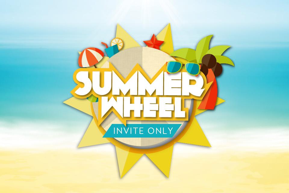 summer wheel promo