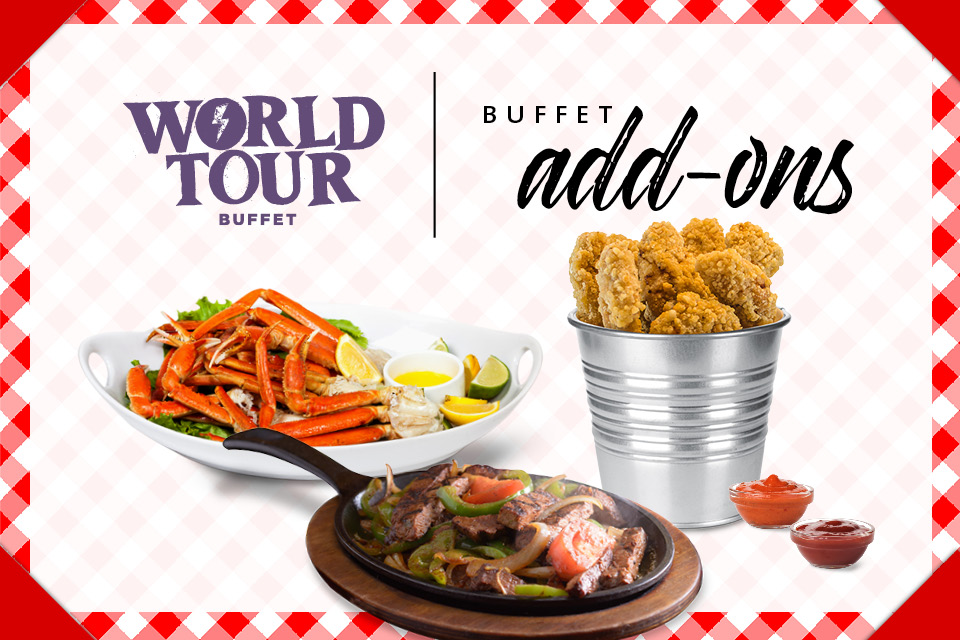 august world tour buffet promo