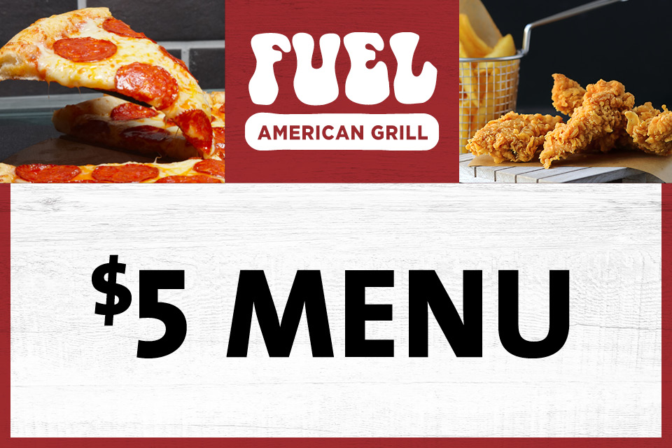 5 menu fuel