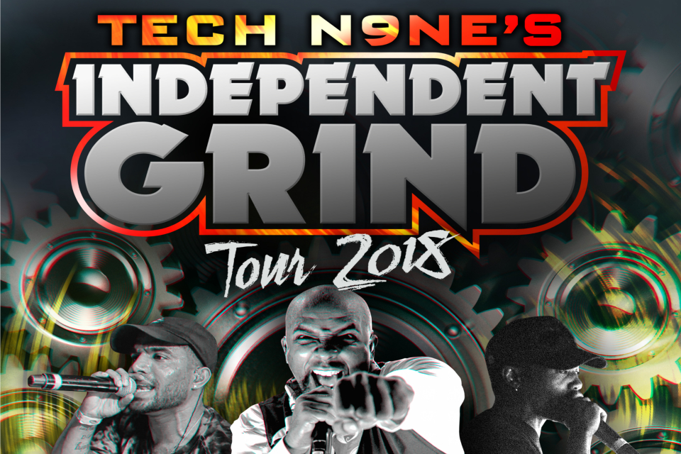 Tech N9Ne w/ Futuristic, Dizzy Wright & Krizz Kaliko | Hard