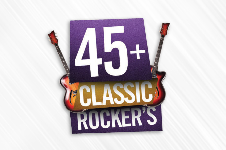 45+ classic rockers casino promotion