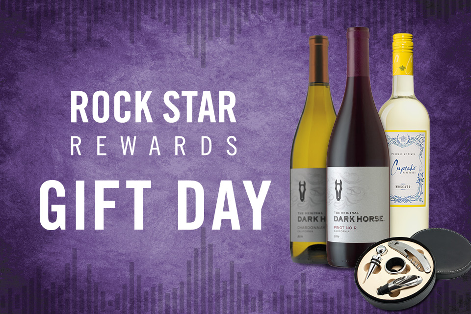 rock star rewards gift day
