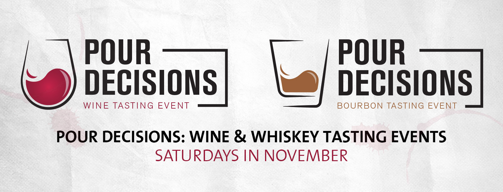 pour decisions tasting events