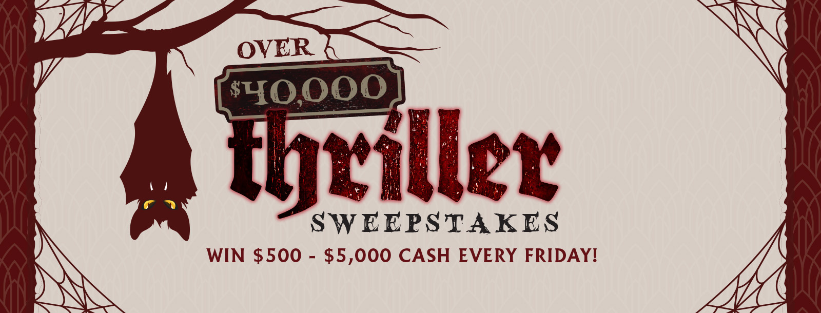 thriller sweepstakes