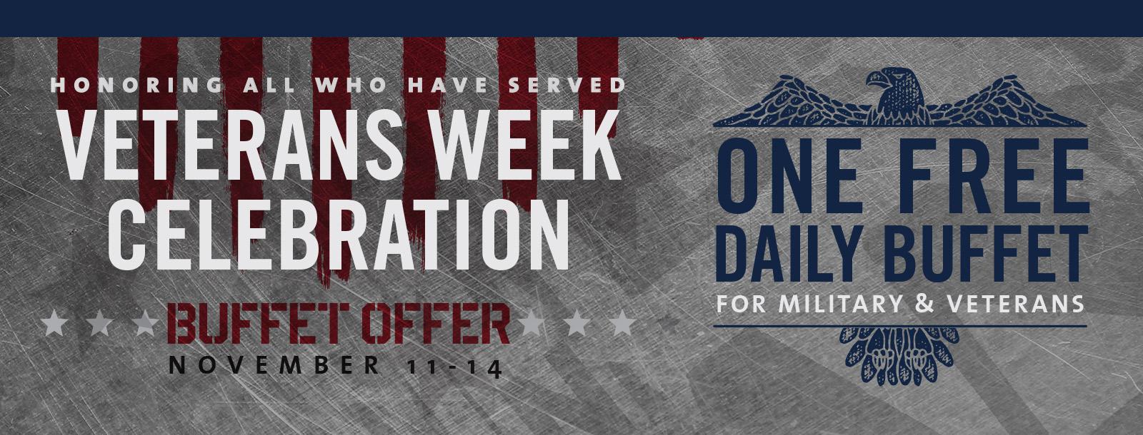 veterans week 2018