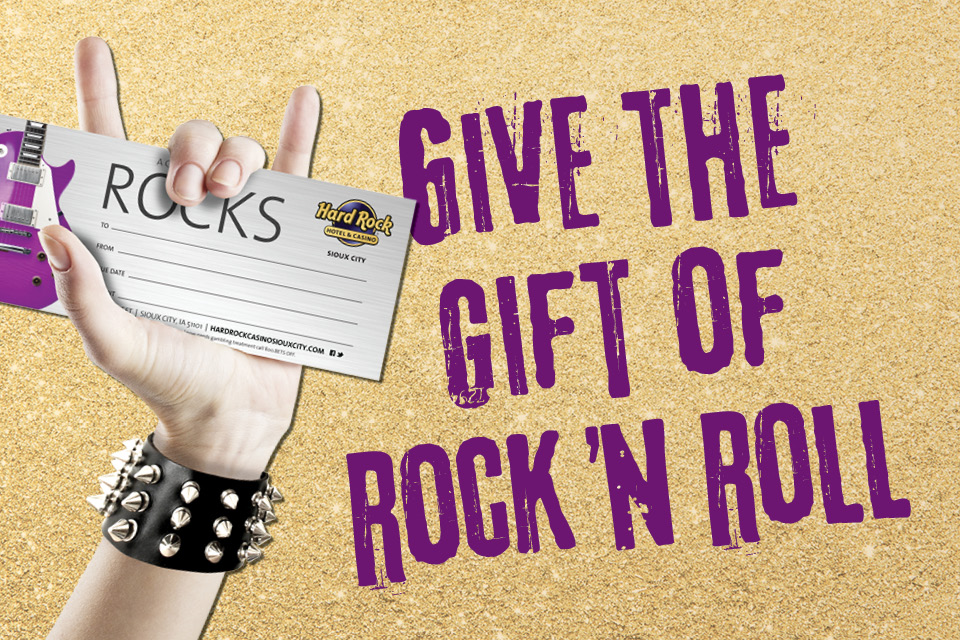rock shop gift certificates