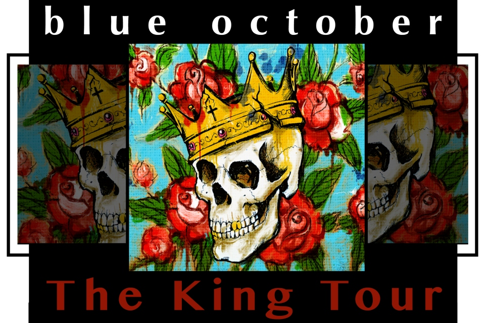 blue october sioux city entertainment