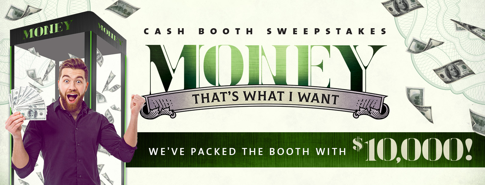cash booth sweeps