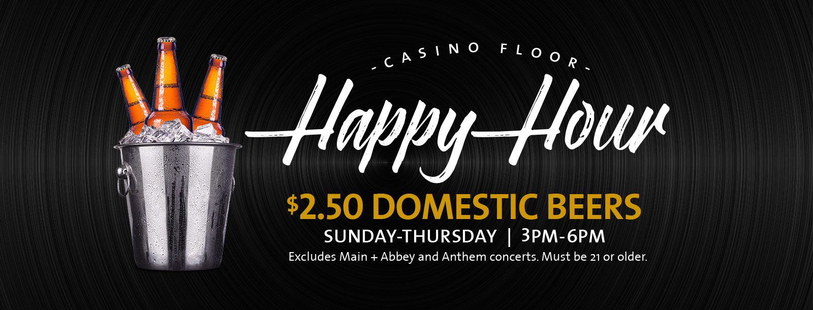 casino happy hour