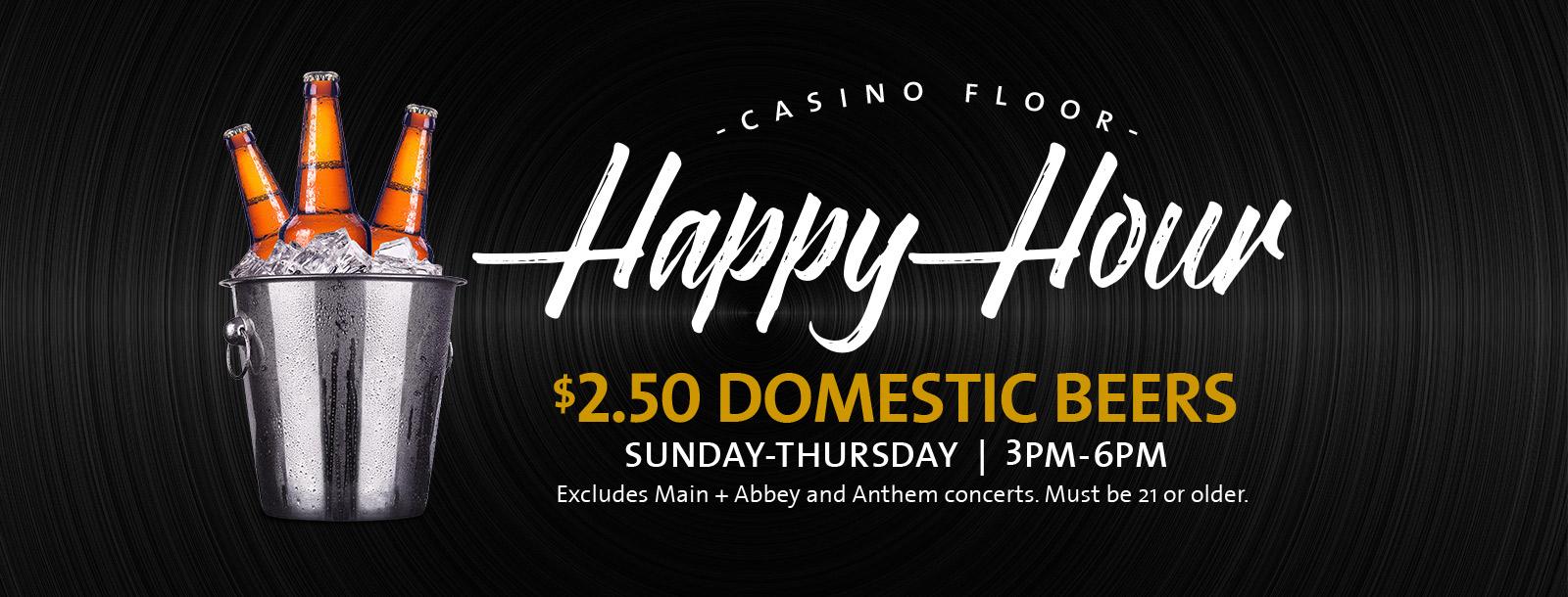 casino happy hour