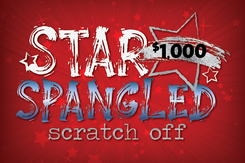 star spangled scratch off promotion