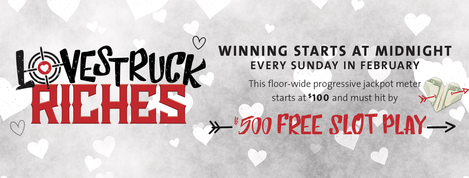lovestruck riches sioux city casino promotion