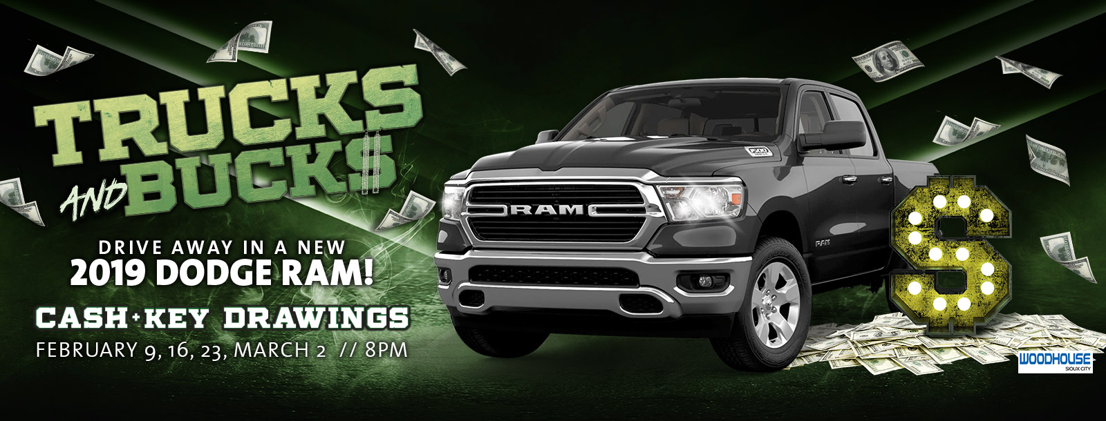 trucks and bucks sioux city casino promotion