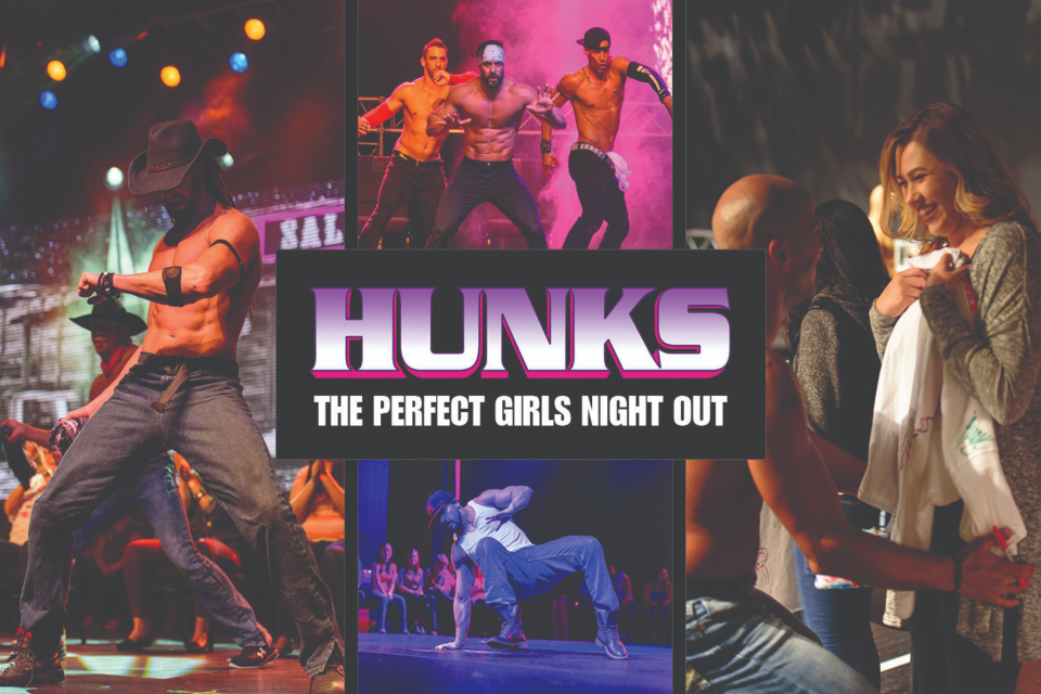 hunks the show sioux city nightlife