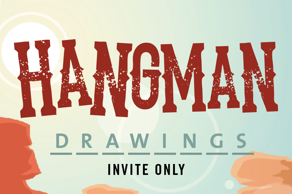 hangman drawings casino promotion