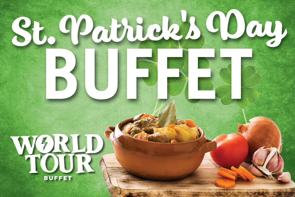 sioux city st.patrick's day buffet