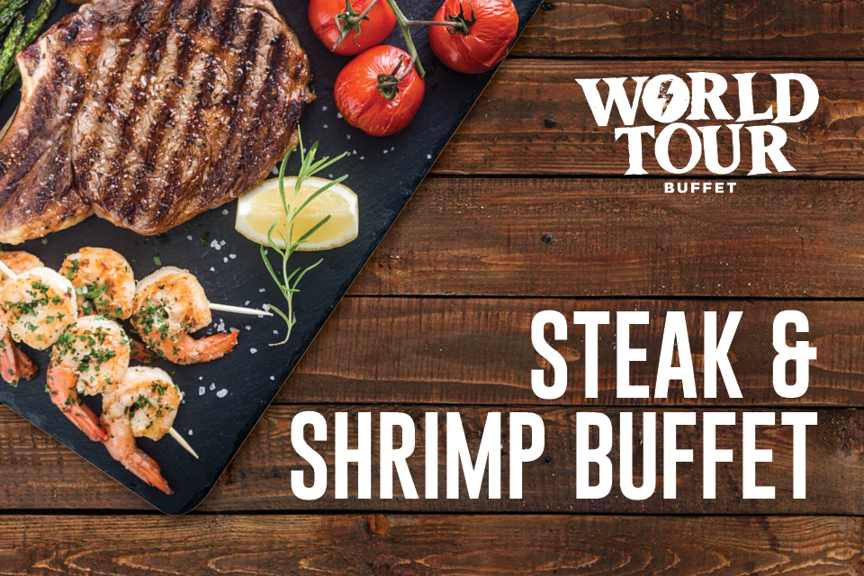 steak & shrimp buffet restaurants sioux city