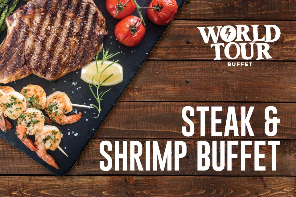 steak & shrimp buffet restaurants sioux city