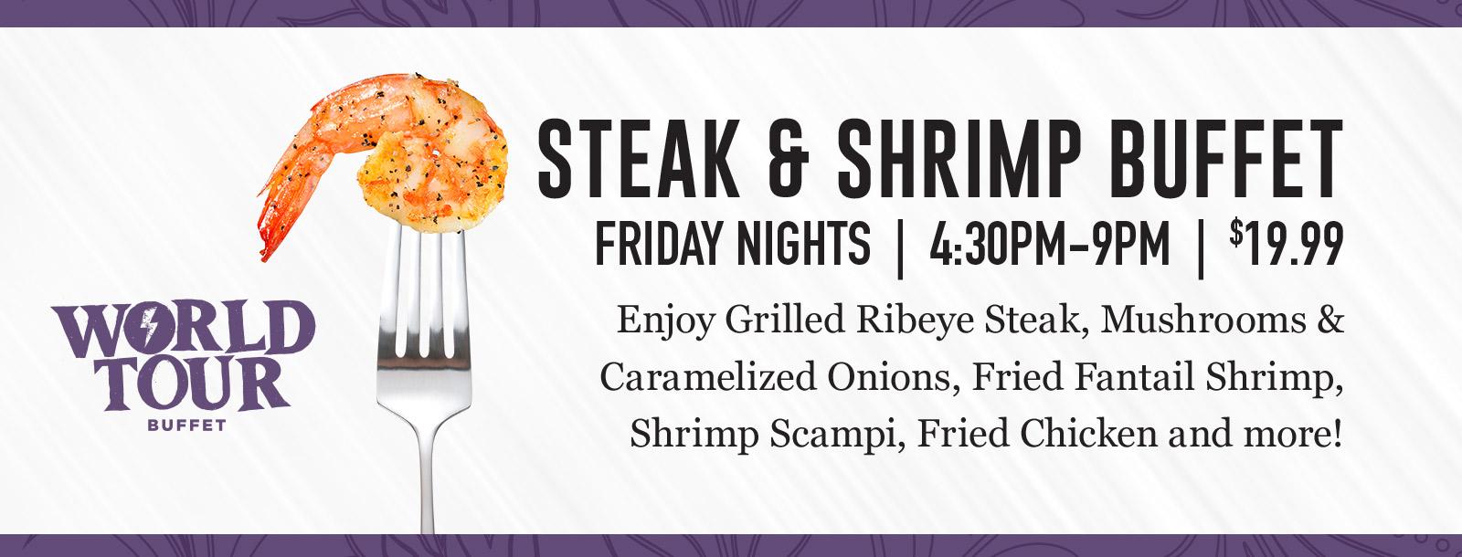steak shrimp buffet