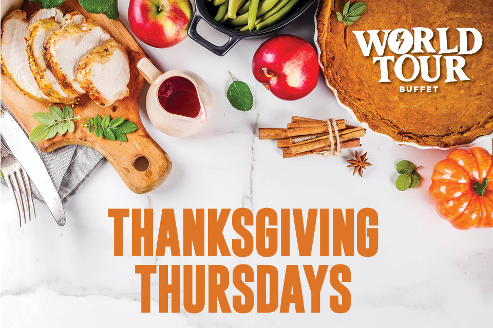 world tour buffet thanksgiving thursdays sioux city restaurants