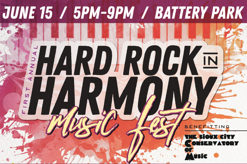 hard rock in harmony music fest sioux city events