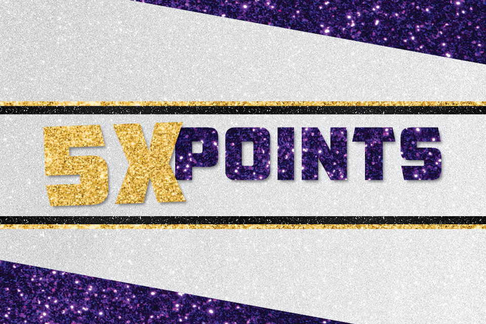 5x points sioux city casino promotion
